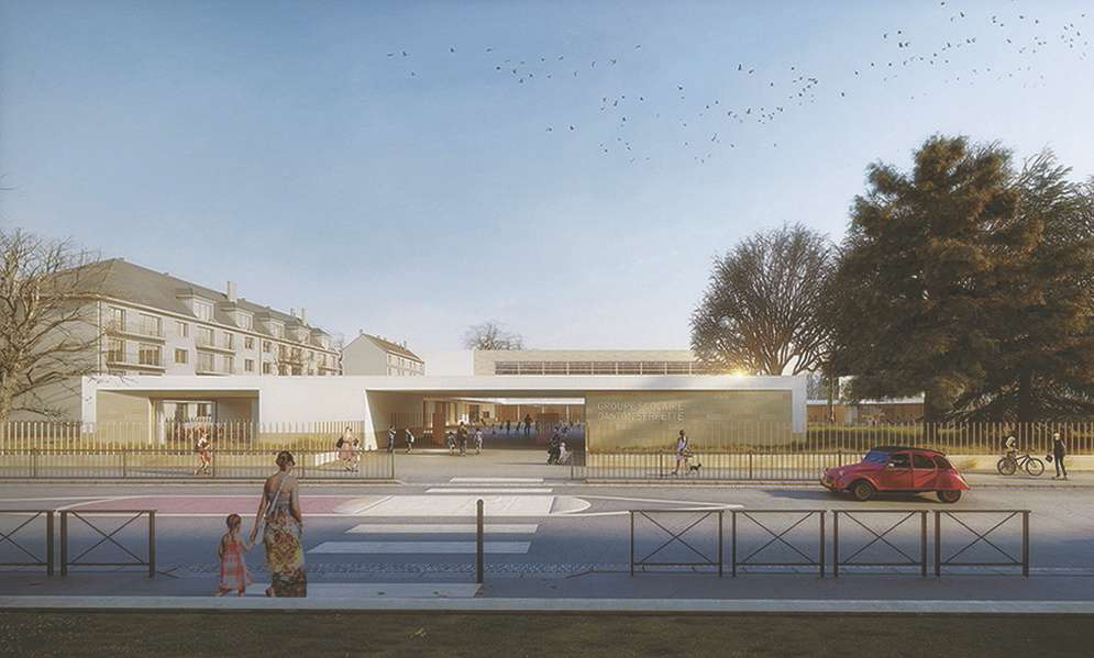 Groupe scolaire - Agence d'architecture Leibar-Seigneurin