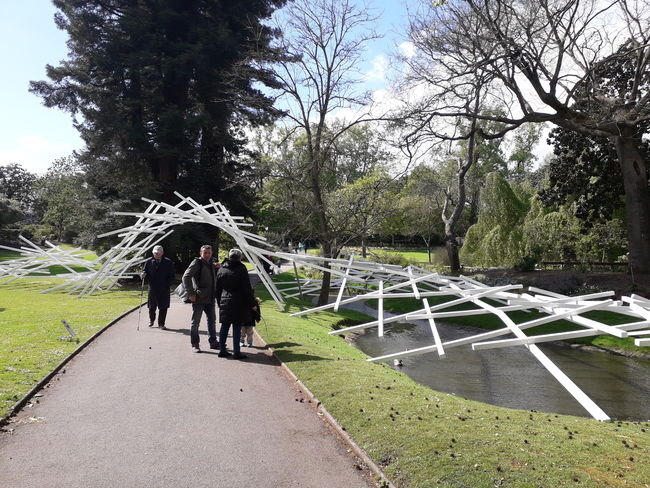 Johann Le Guillerm réenchante le Jardin des plantes de Nantes