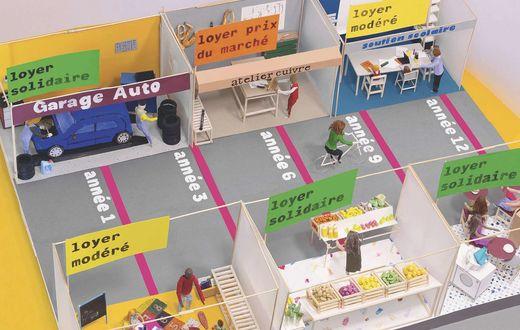 Urbanisme - Le rez-de-ville, espace vital