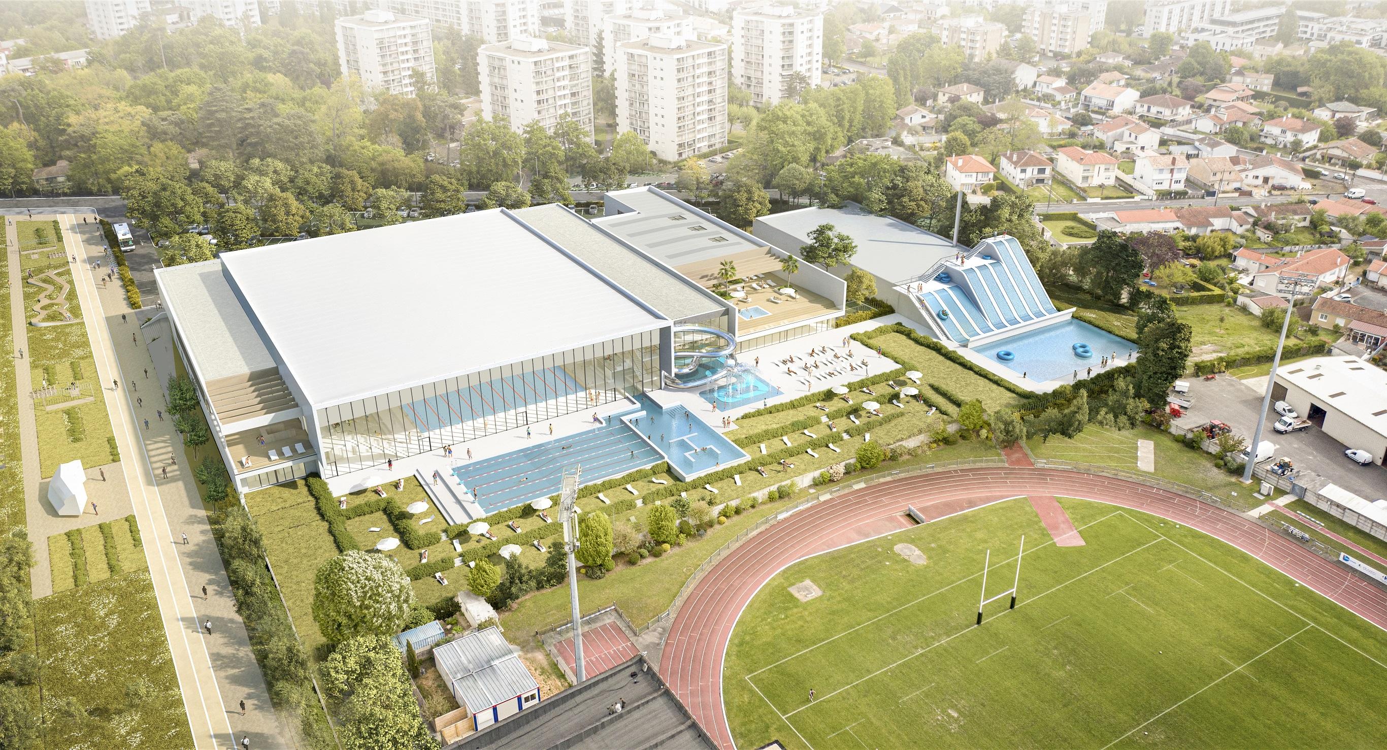 Eiffage Construira Le Stade Nautique Métropolitain De Bordeaux Mérignac