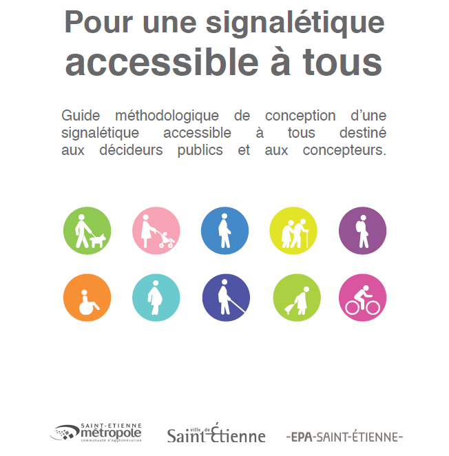 Publication d'un guide méthodologique de conception d'une signalétique accessible