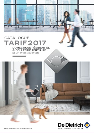 De Dietrich édite son catalogue tarif 2017