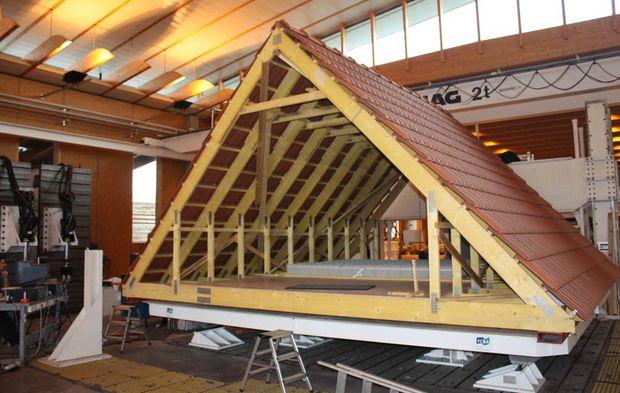 charpente bois industrielle
