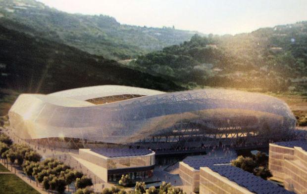 le futur olympic nice stadium de wilmotte et associ s. Black Bedroom Furniture Sets. Home Design Ideas
