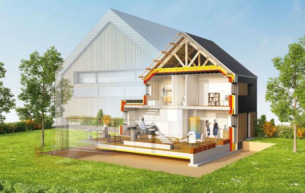 maison nergie positive allier architecture technique et usages des habitants. Black Bedroom Furniture Sets. Home Design Ideas