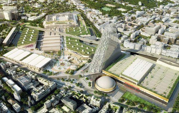 500 millions pour moderniser le parc des expositions de la - Parc exposition porte de versailles ...