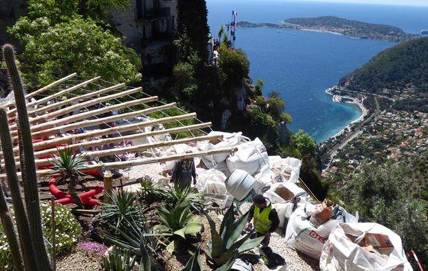 Eze achève son jardin exotique, entre Nice et Monaco