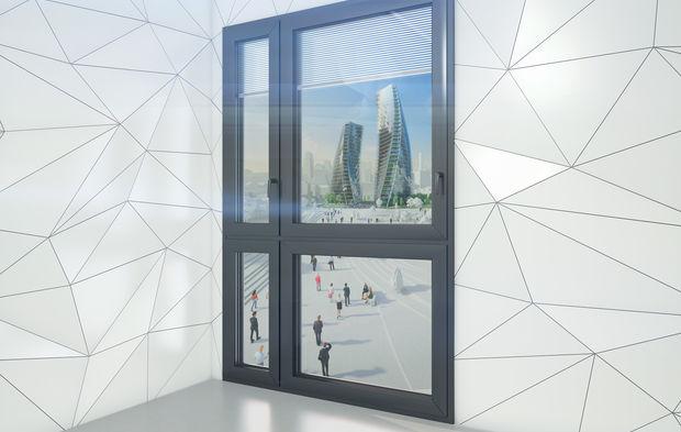 Wicona Une Fenêtre Nouvelle Génération Thermo Acoustique En