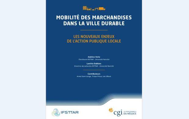 Logistiques urbaines : la CGI et l'IFSTTAR présentent leur étude sur le Salon des Maires