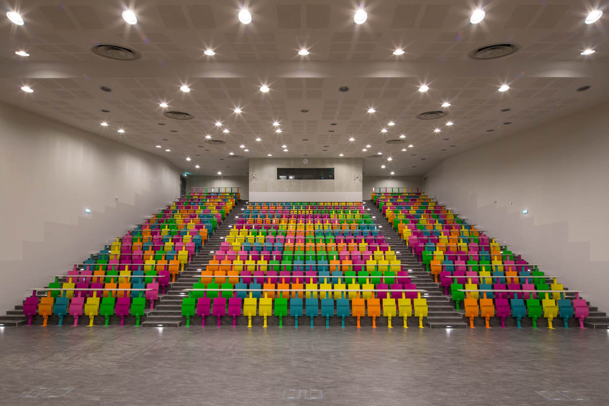 L'auditorium de 500 places.