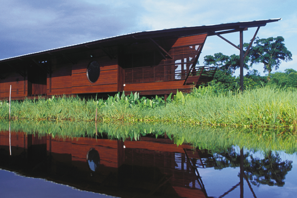 Pavillon de la réserve naturelle des marais de Kaw par Jungle Architecture Group (Guyane)