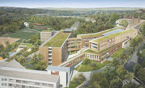 Le lycée international se modernise