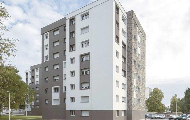 Bas-Rhin : A Haguenau, le quartier des Pins panache les matériaux