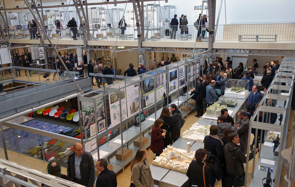 Exposition « Réinventer Paris » au Pavillon de l'Arsenal à Paris (3 février-8 mai 2016)