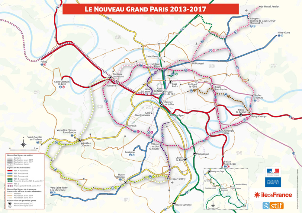 La Société du Grand Paris engage 256 M€ pour les transports d'Ile-de-France