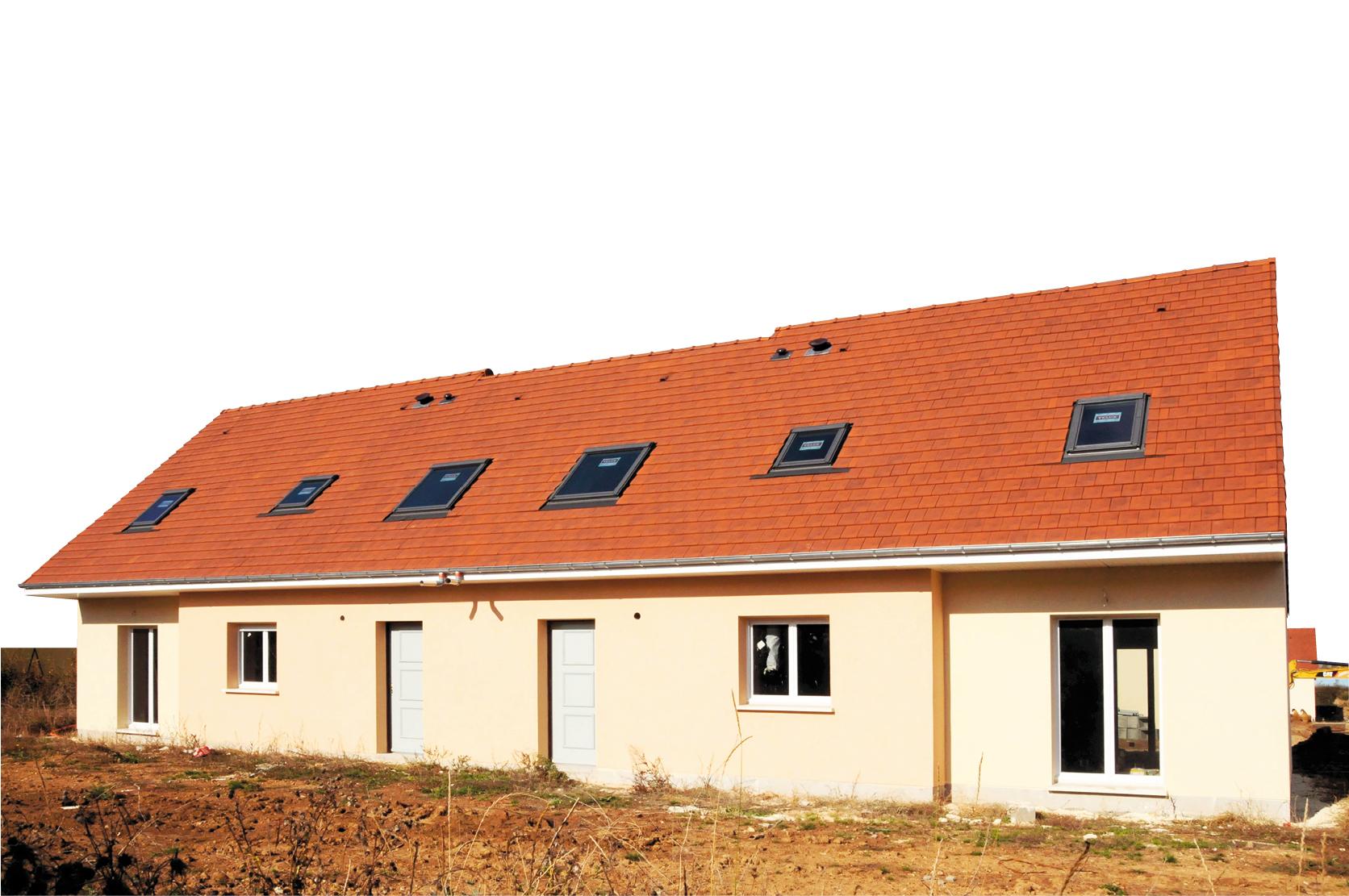 Tuiles pour toitures à faible pente
