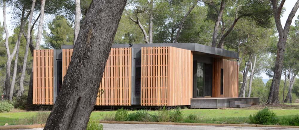 a marseille pop up house veut r volutionner la construction passive faible co t. Black Bedroom Furniture Sets. Home Design Ideas