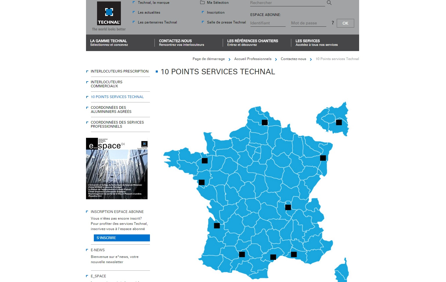 Un nouveau Point Services Technal
