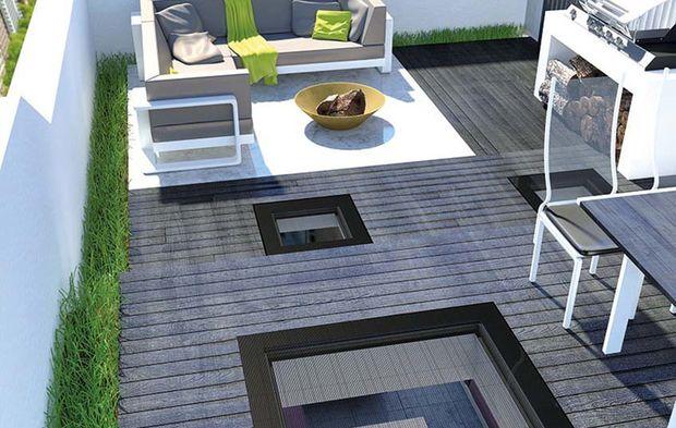 Fenêtre Plate Pour Toit Terrasse