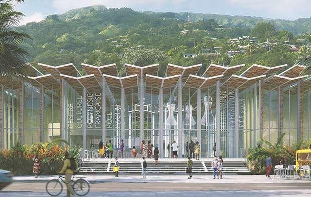 Papeete tahiti polynésie française centre culturel