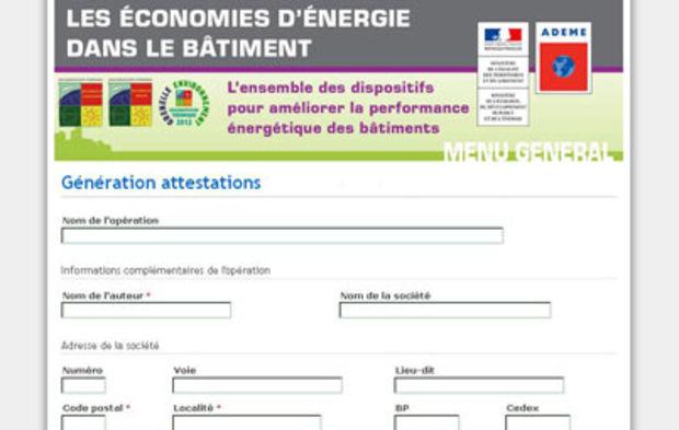 Attestations De Prise En Compte De La Rt 2012 Un Saut Dans L Inconnu