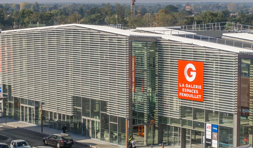 mercialys livre un centre commercial de 85 000 m2 au nord de toulouse. Black Bedroom Furniture Sets. Home Design Ideas