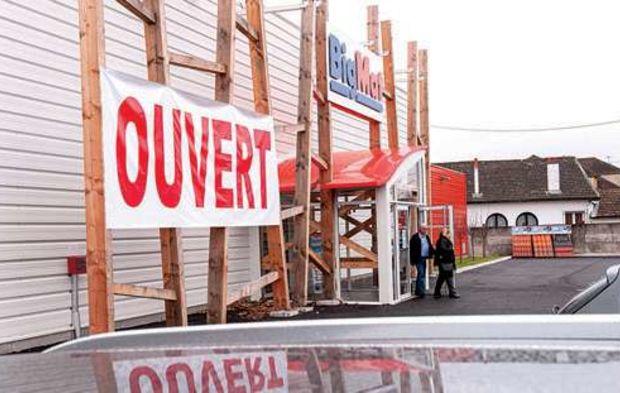 Bigmat Se Developpe Sur Le Carrelage Et La Menuiserie