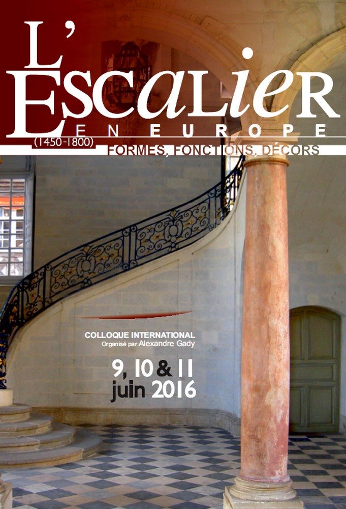 Architecture : l'Escalier en colloque à Paris