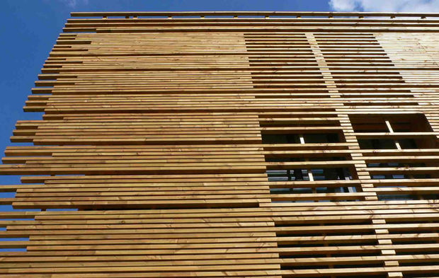 bient t une marque de qualit pour le bardage en bois. Black Bedroom Furniture Sets. Home Design Ideas