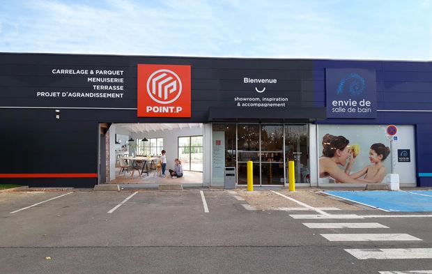 Inauguration Du Premier Showroom Commun Entre PointP Et Envie De Salle Bain