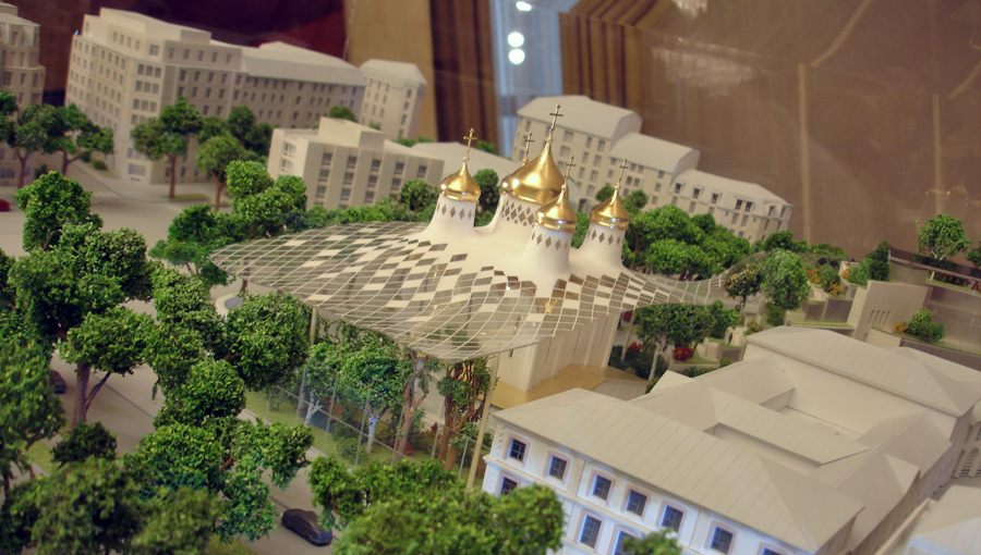 Surprise et déception pour le futur centre orthodoxe russe à Paris