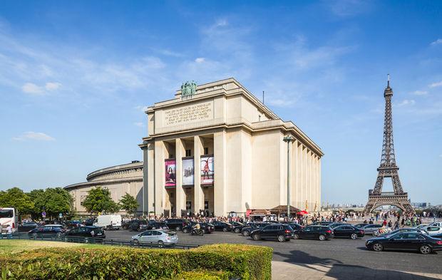 Rénovation du théâtre national de Chaillot à Paris (XVIe)