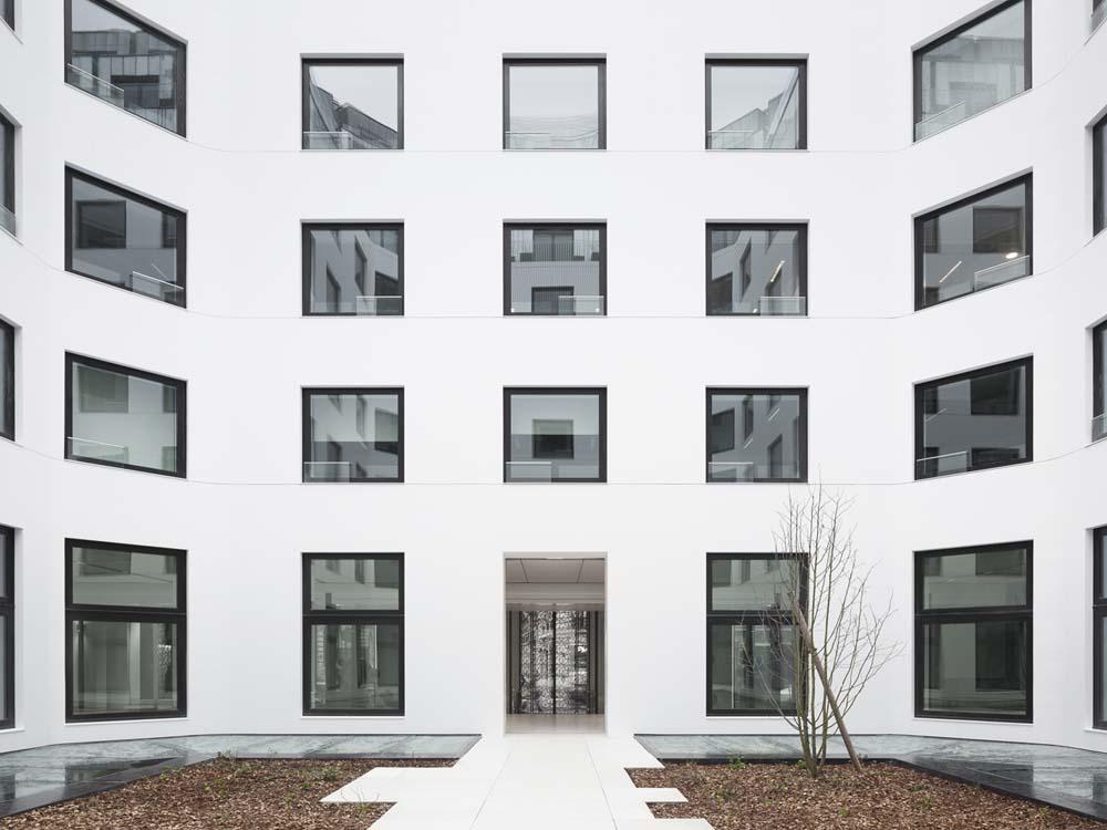 Rénovation de l immeuble de bureaux du rue d amsterdam à paris