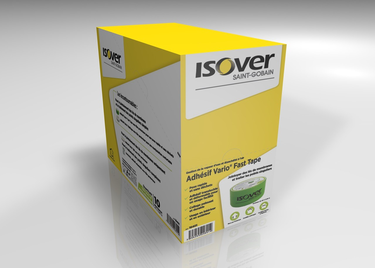 Isover revoit ses packagings