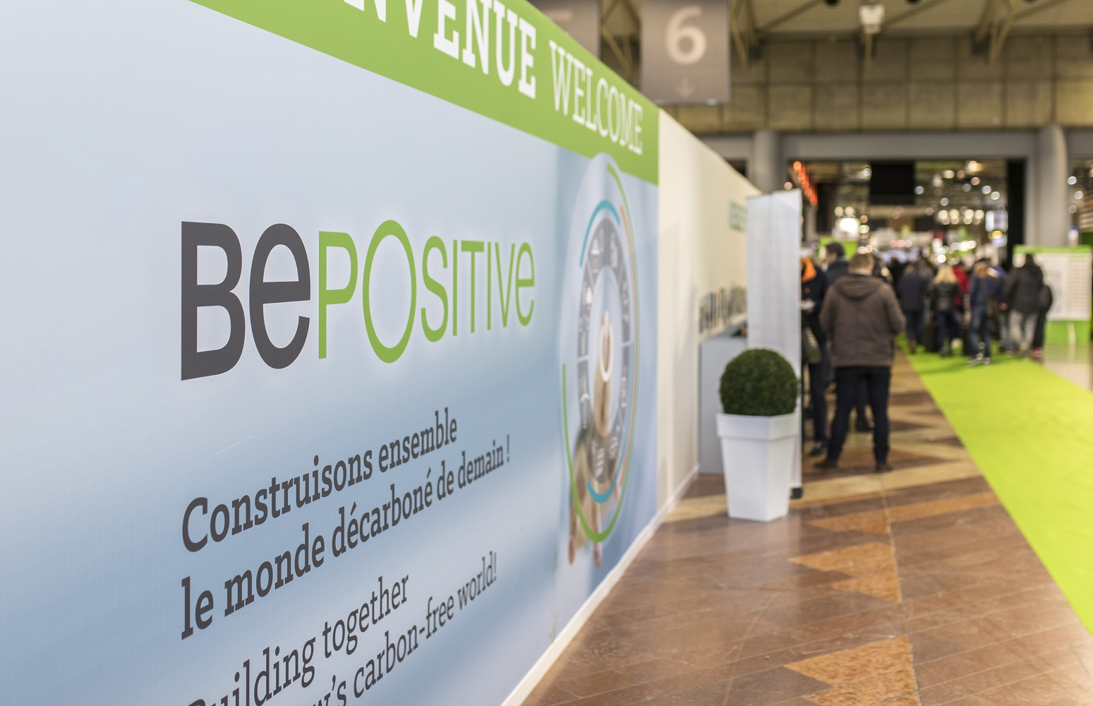 Nouveau report du salon BePositive