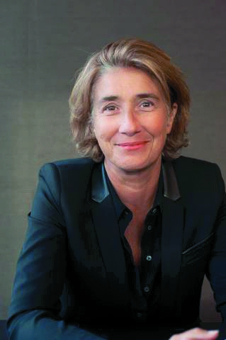 Laurence Pernot, directrice de la communication de Saint-Gobain
