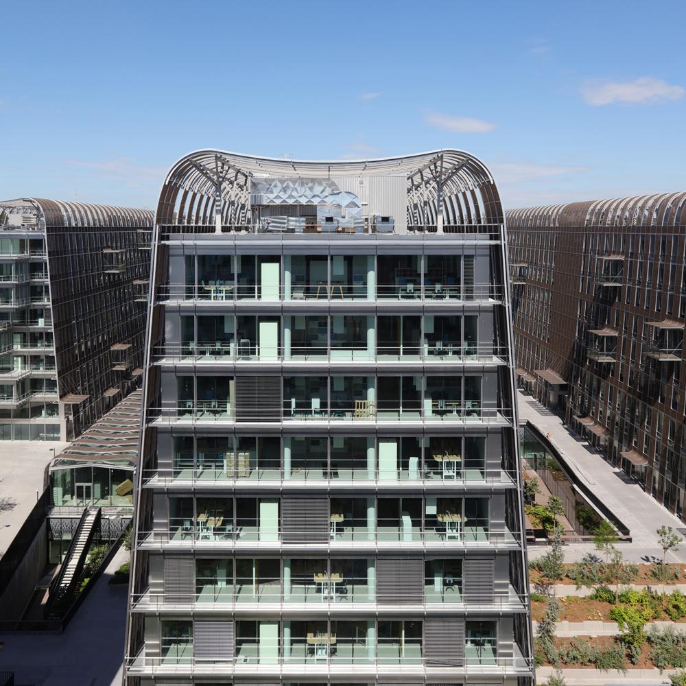 Japonais Val De Fontenay catégorie immeuble de bureaux neuf + 50 000 m2 : les dunes