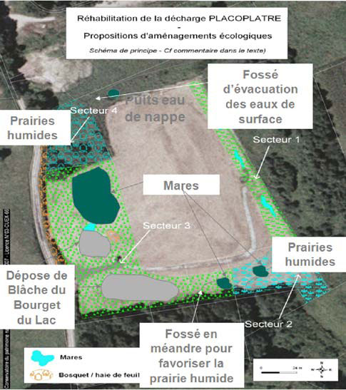 La reconstruction du milieu naturel