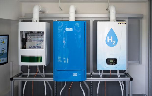 La première chaudière à hydrogène domestique est en service depuis le 25 juin