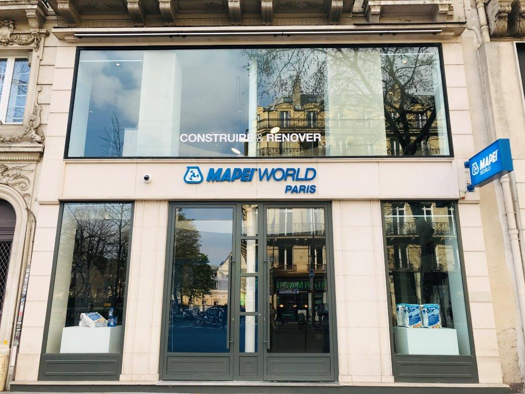 Mapei World s'installe à Paris