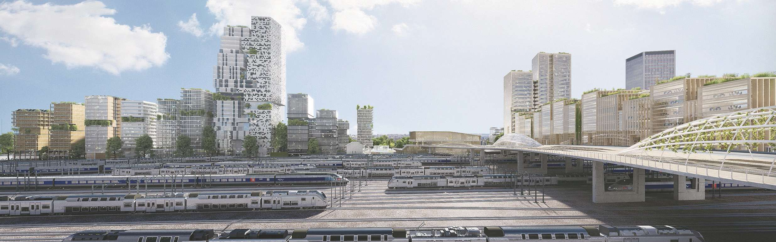 Saint-Denis - Les Lumières Pleyel, un grand quartier express