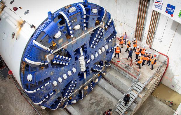 Le premier tunnelier de la ligne 18 du Grand Paris Express entre en scène