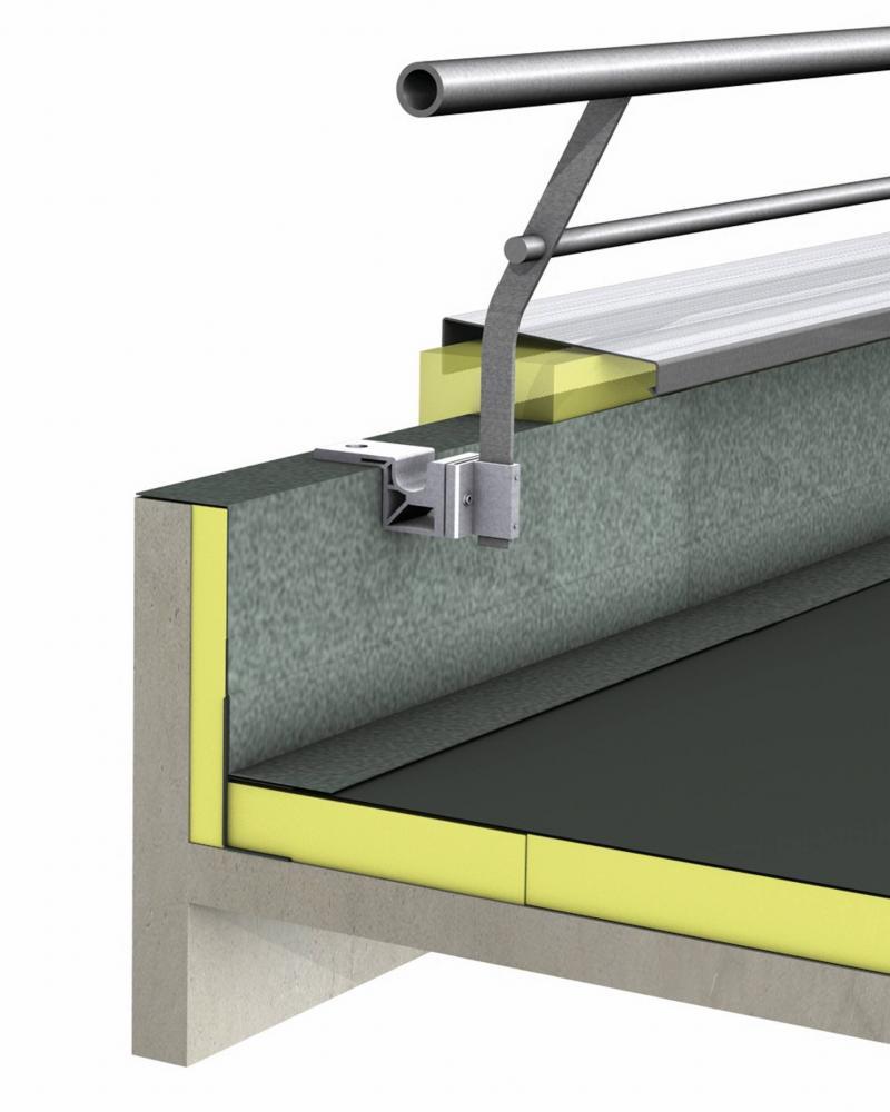le point sur les garde corps en toiture terrasse tanch e. Black Bedroom Furniture Sets. Home Design Ideas