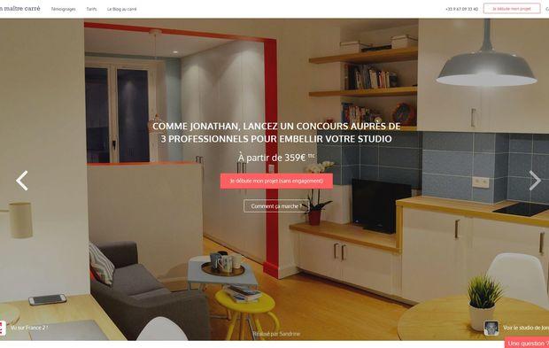 avec la start up mon ma tre carr saint gobain se lance sur l architecture et la d co int rieure. Black Bedroom Furniture Sets. Home Design Ideas