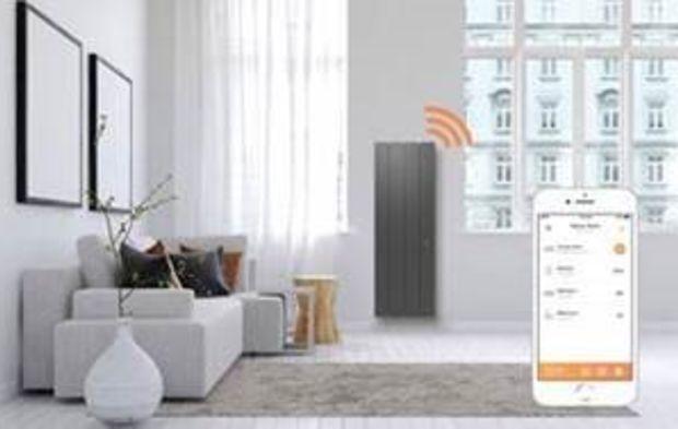 Radiateur Salon netatmo et muller signent intuitiv, une nouvelle gamme de radiateurs