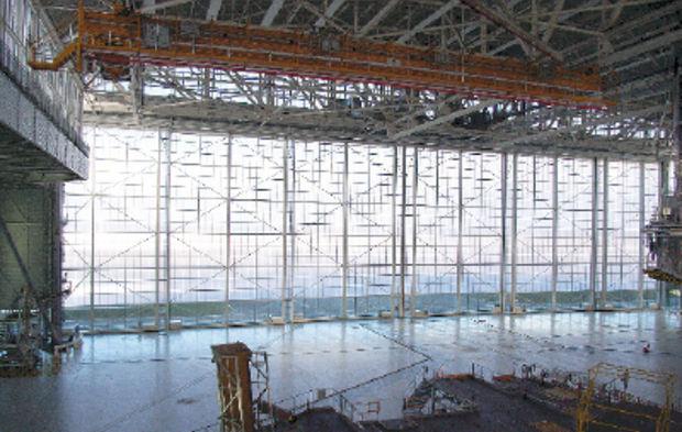 Batiment D Activite Un Hangar De Maintenance A La Mesure De