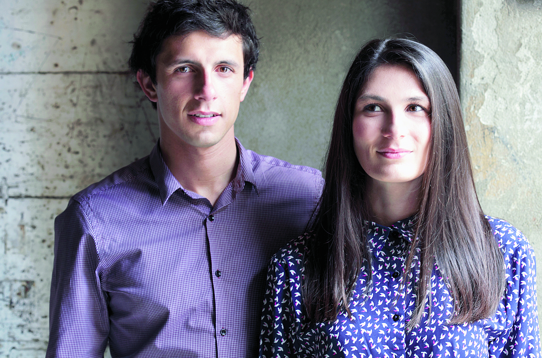 Jean-Philippe Spinelli et Isabelle Buzzo, 31 ans, architectes (Buzzo Spinelli Architecture).