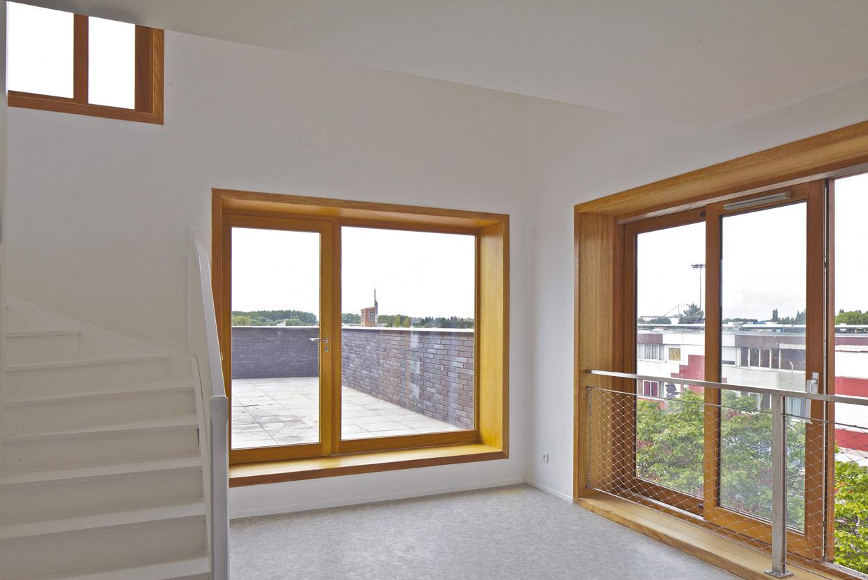 23 logements sociaux à béthune (pas-de-calais), par fres architectes