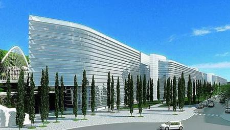 Gare lgv de liège un immeuble de bureaux signé calatrava