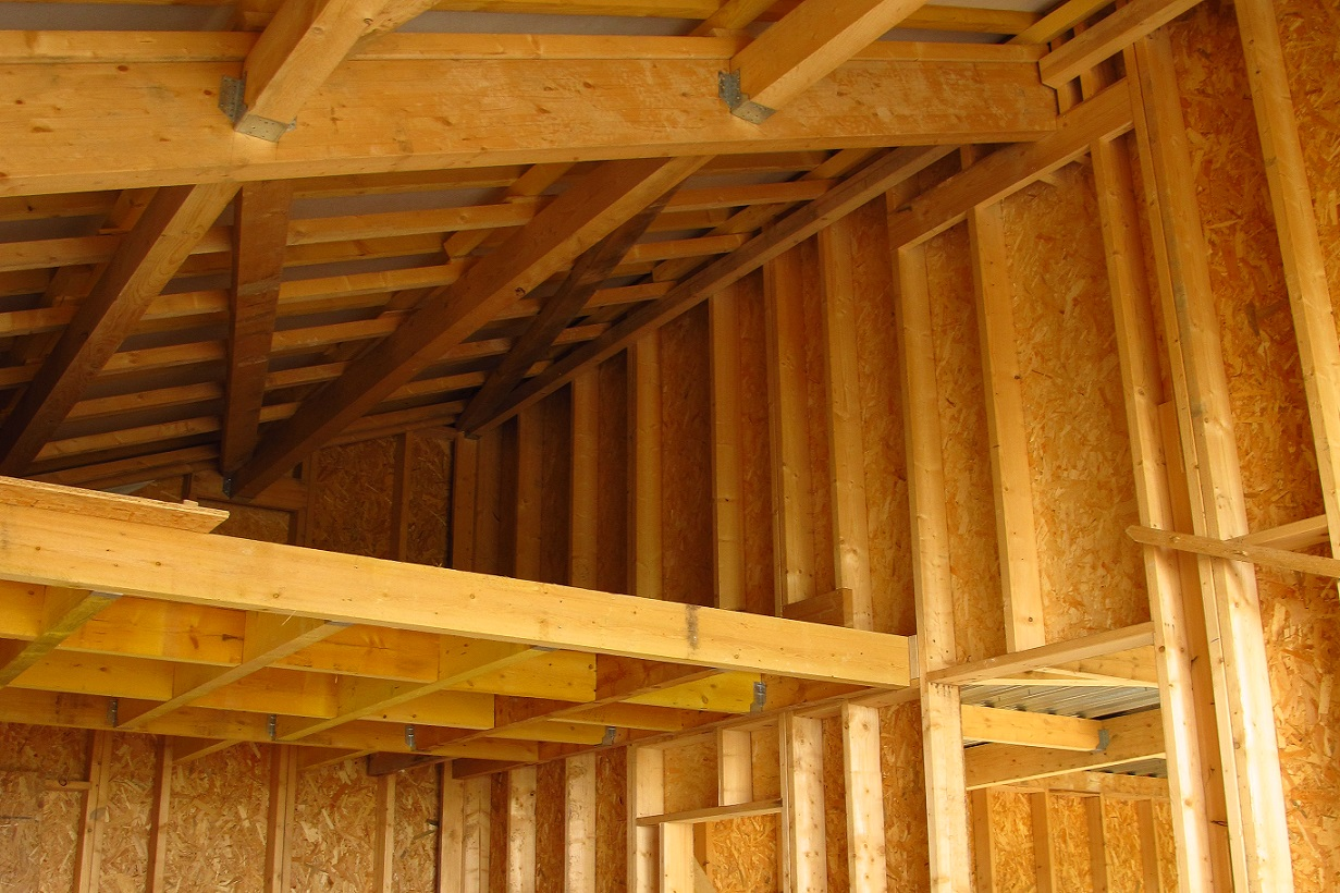 Construction bois les solutions de trois industriels for Construction en bois wiki